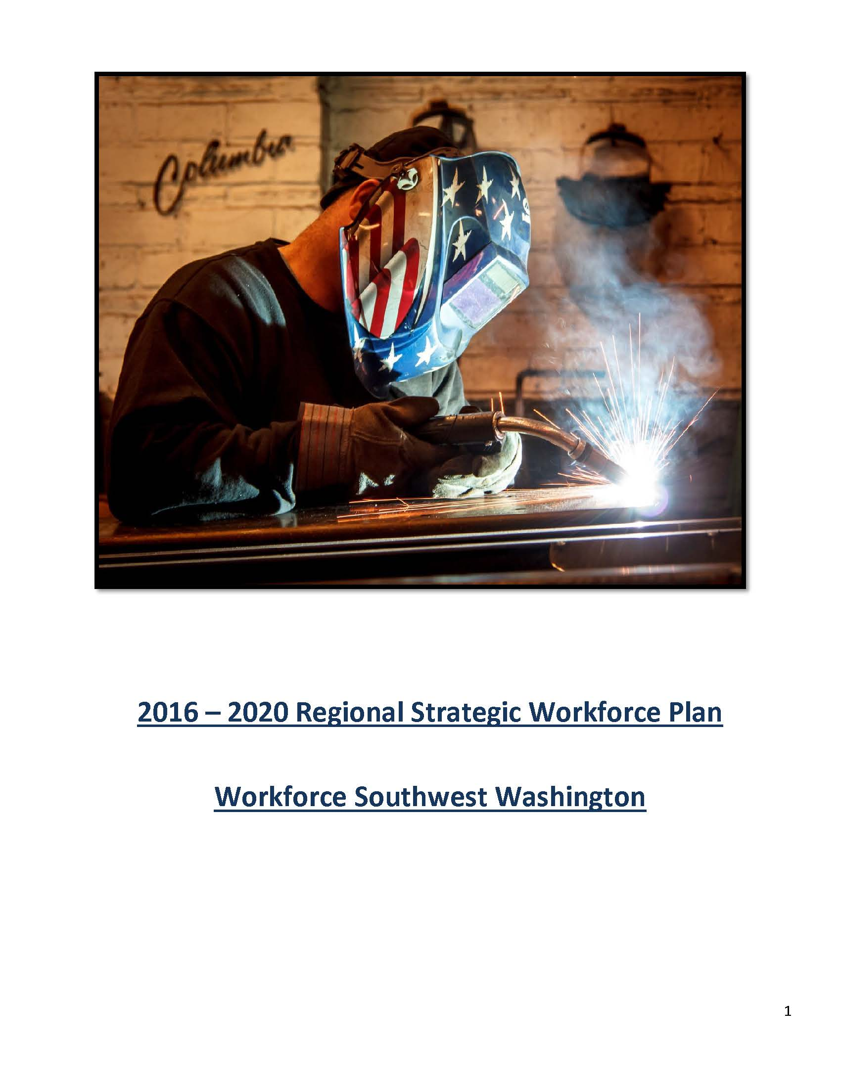 Local Workforce Plan 2016-2020 Cover