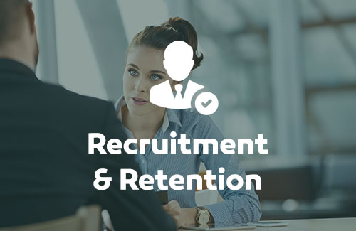 Image link to recruitment and retention